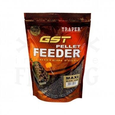 Traper Peletės GST Feeder Maxi Black 4 mm, 500 g