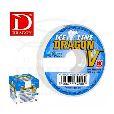 Valas Dragon V Ice Line Ø 0,105 mm, 40 m, 1,40 kg