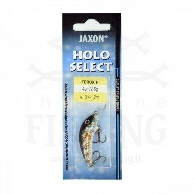 Vobleris Jaxon Ferox F O 2,5 g, neria 0,4-1,2 m, ilgis 4 cm 2