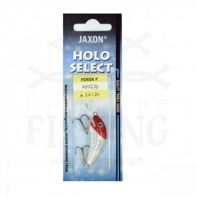 Vobleris Jaxon Ferox F RH 2,5 g, neria 0,4-1,2 m, ilgis 4 cm