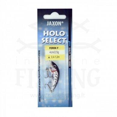 Vobleris Jaxon Ferox F S 2,5 g, neria 0,4-1,2 m, ilgis 4 cm