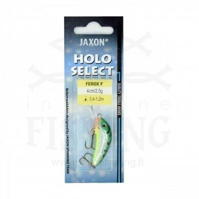 Vobleris Jaxon Ferox F ST 2,5 g, neria 0,4-1,2 m, ilgis 4 cm