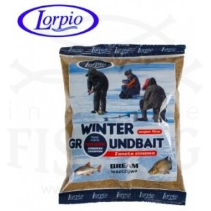 Žieminis jaukas Lorpio Winter Groundbait Bream 500 g