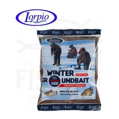 Žieminis jaukas Lorpio Winter Groundbait Bream Black 500 g
