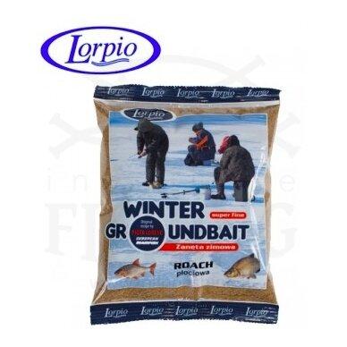 Žieminis jaukas Lorpio Winter Groundbait Roach 500 g
